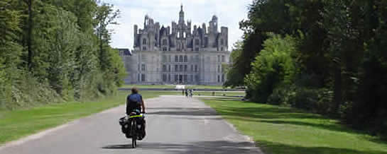 castle along the Loire