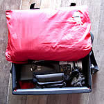 tour tips handlebar bag pillow
