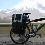 solar panel on bicycle